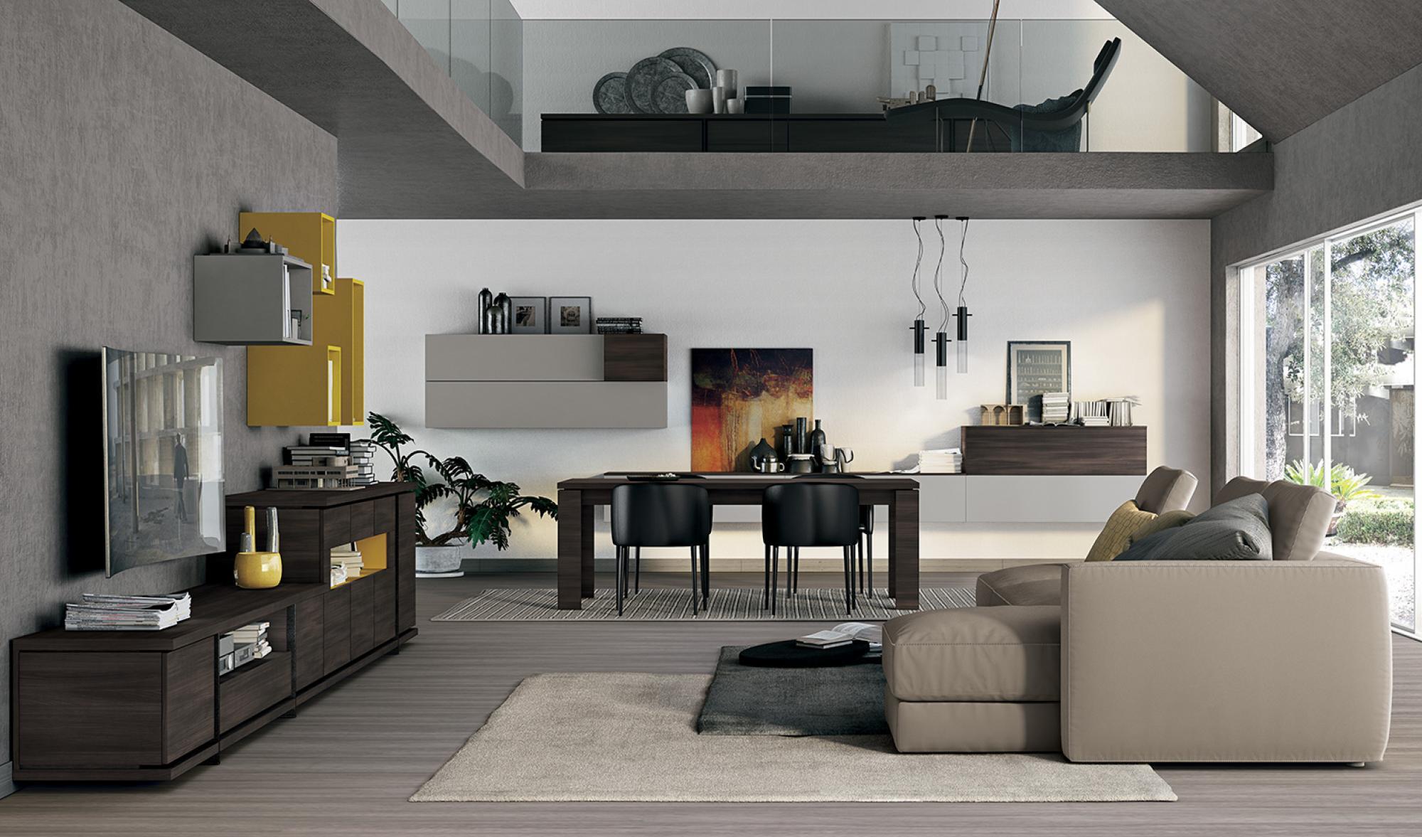 Living colombini vitalyty arredo spazio casa for Colombini mobili