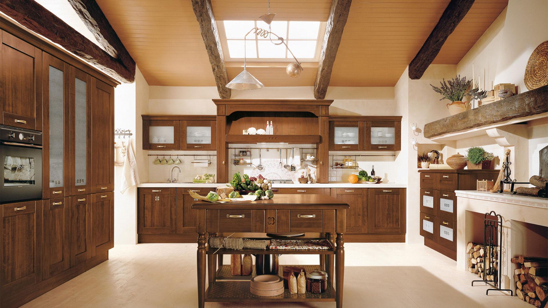 Arredare la casa in stile classico arredo spazio casa for Idee arredo cucina classica