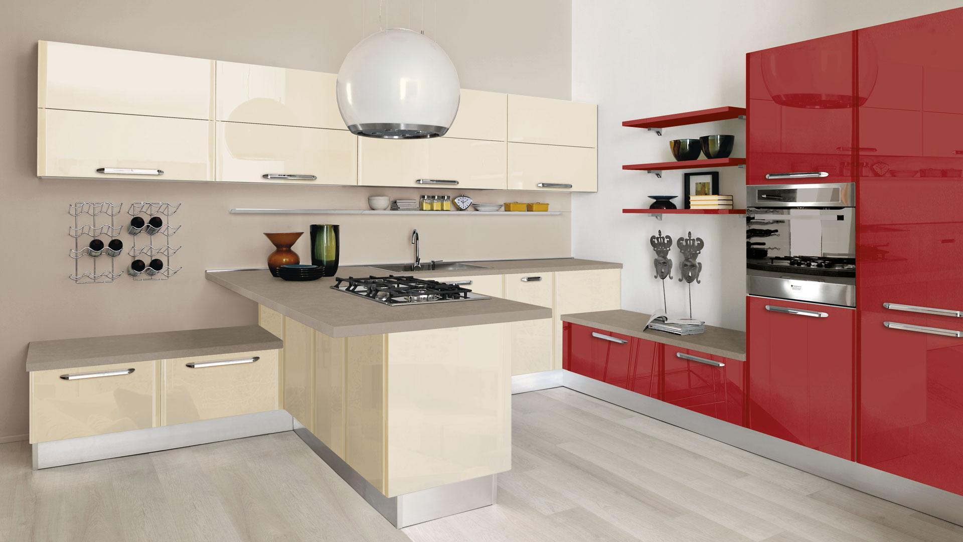 Cucine lube arredo spazio casa - Centro cucine lube ...