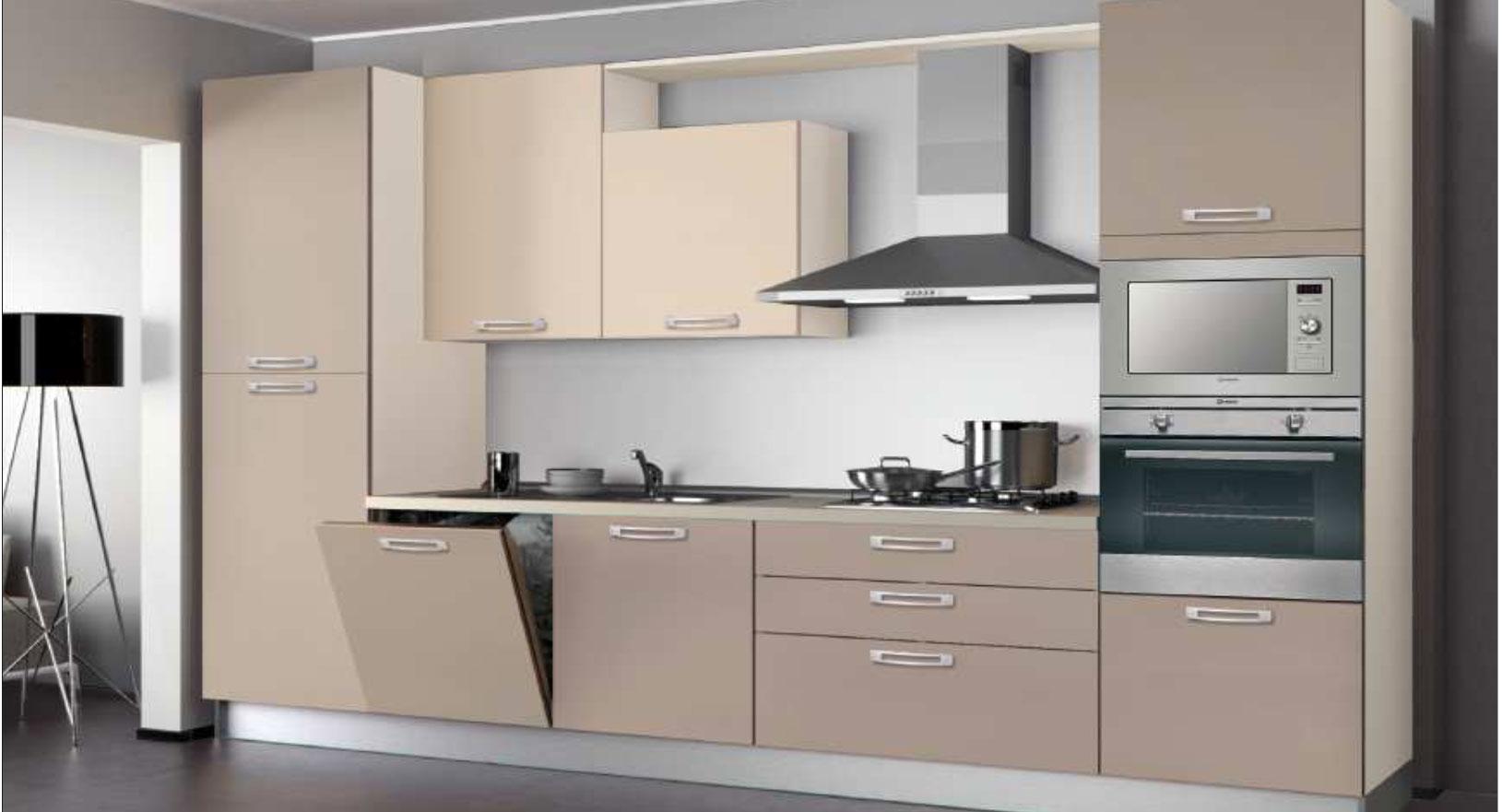 Promozione cucine creo scegli le composizioni standard - Cucina 3 metri angolare ...