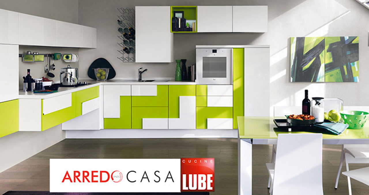 Cucina creativa di lube la scelta ideale per una cucina - Cucina creativa lube ...