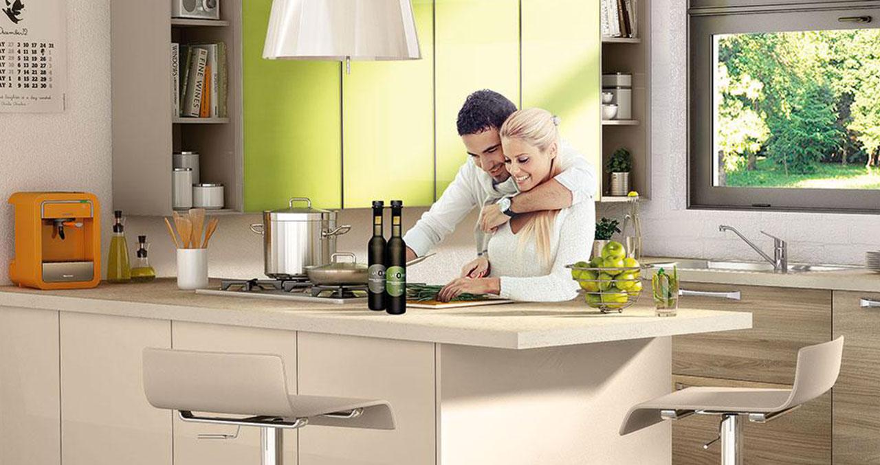 Top in quarzo i vantaggi del piano cucina in okite arredo spazio casa - Piani cucina in okite ...