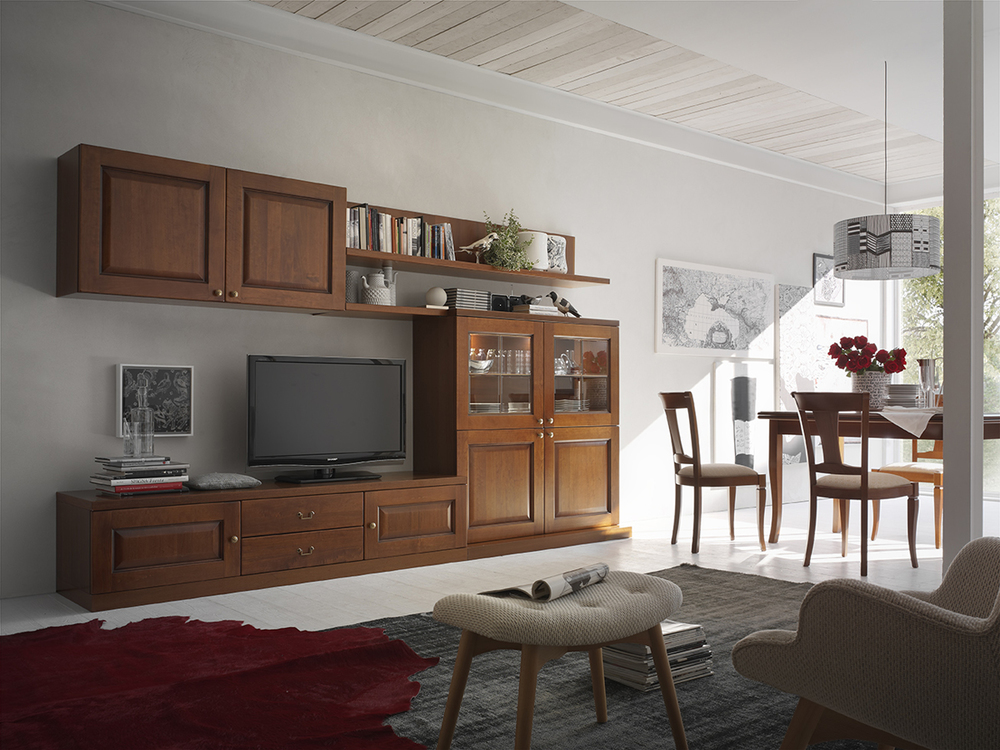 Living maronese acf arredo spazio casa for Mobili salone classici