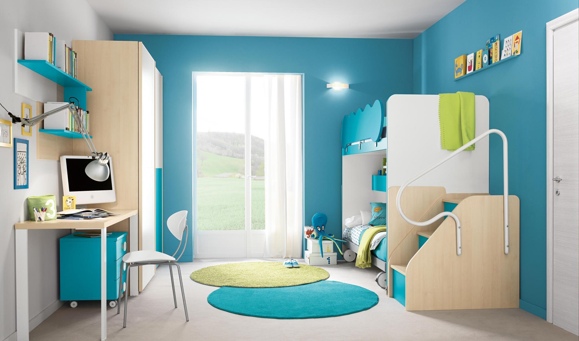 Camerette colombini golf arredo spazio casa - Camerette country per bambini ...