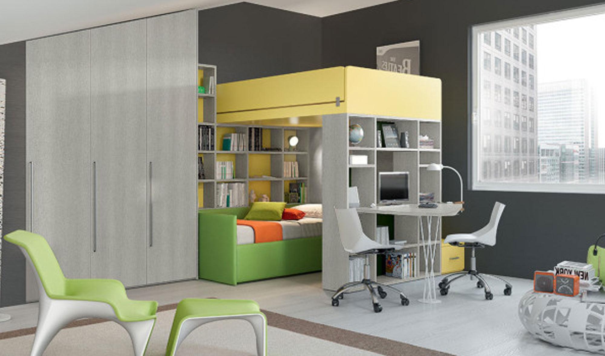 Camerette ferrimobili arredo spazio casa - Mobili prezioso camerette ...