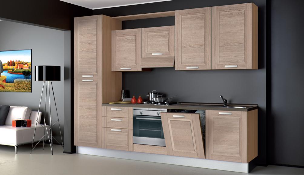 Speciale promozione cucine il modello mya 3mt arredo - Misure standard cucine componibili ...