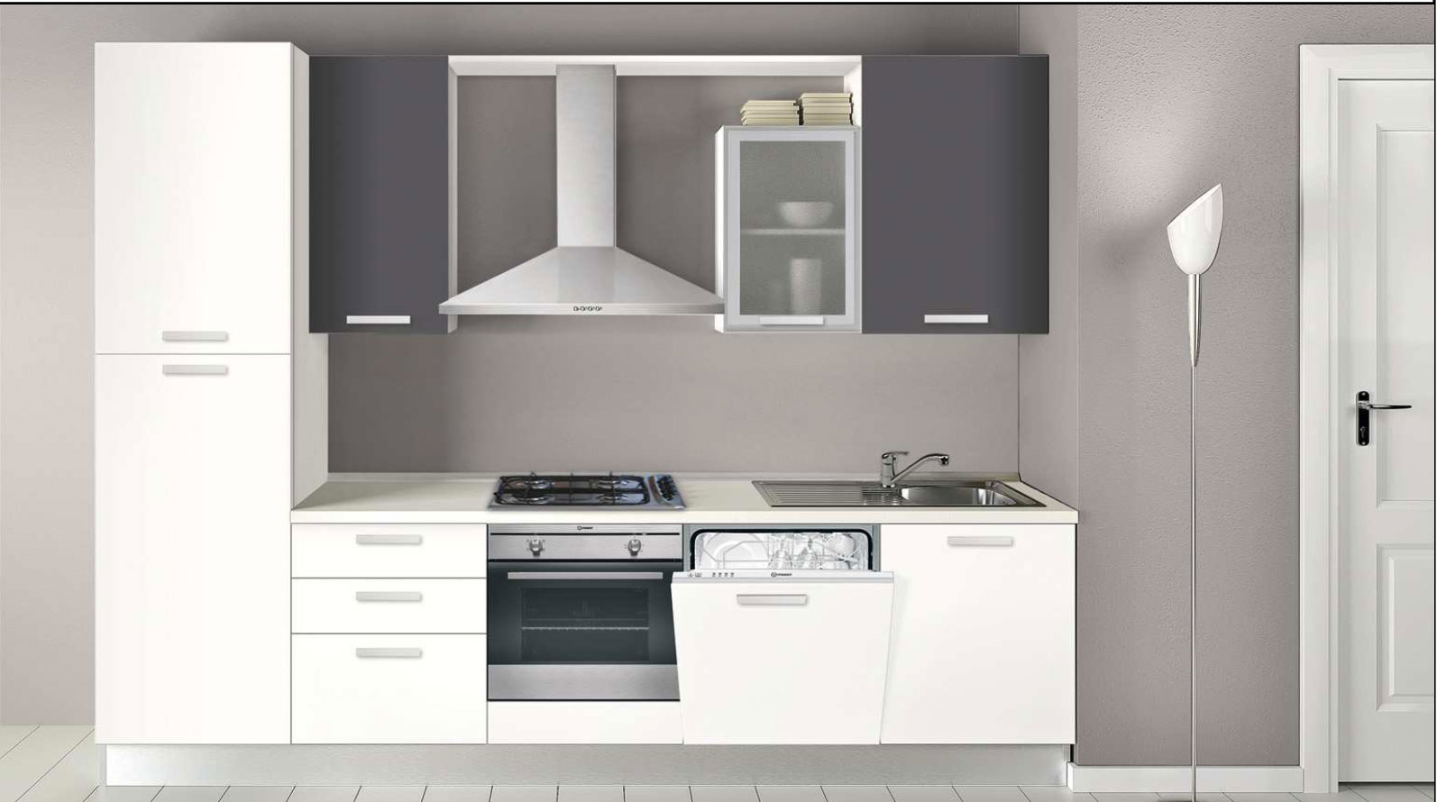 Emejing cucina 3 metri contemporary home interior ideas for Cucine 3 metri prezzi