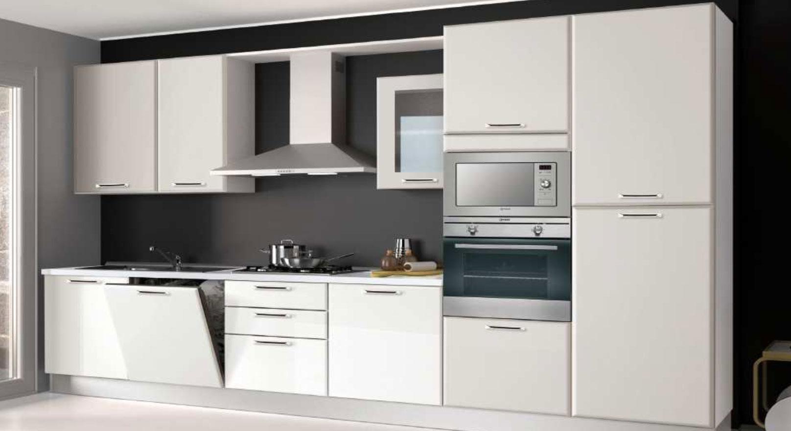 Cucina creo mt composizione standard chiavi in mano for Cucina moderna 3 60