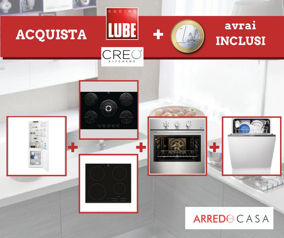 PROMOZIONI CUCINE LUBE CREO - ARREDO SPAZIO CASA