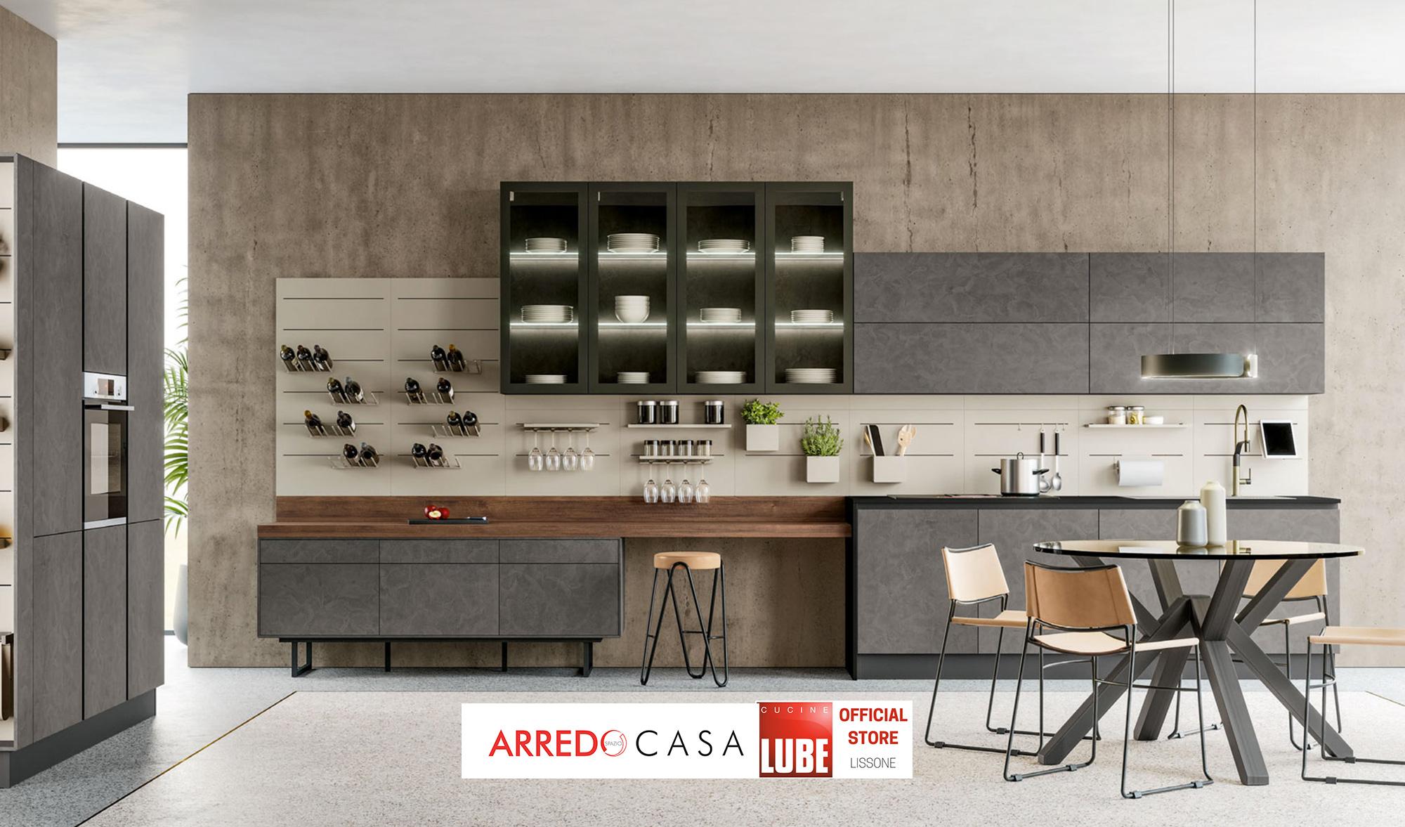 Mobili E Accessori Lissone arredospaziocasa lissone - showroom mobili - centro cucine lube