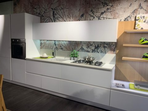 OUTLET CUCINA LUBE IMMAGINA GLAKS